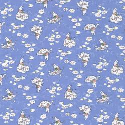 2510-001 Everything But The Kitchen Sink XI - Rabbit - Blue Fabric