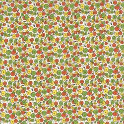 2513-003 Everything But The Kitchen Sink XI - Med Flowers - Yellow/Green Fabric