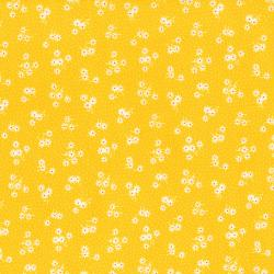2514-002 Everything But The Kitchen Sink XI - Daisy - Yellow Fabric
