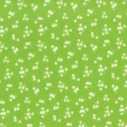 2514-003 Everything But The Kitchen Sink XI - Daisy - Green Fabric