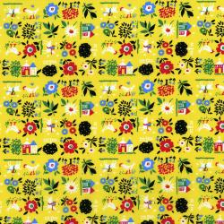 2962-001 Everything But The Kitchen Sink XII - Farm Fresh - Butter Fabric