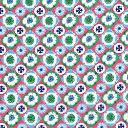 2967-001 Everything But The Kitchen Sink XII - Box Social - Mint Julep Fabric