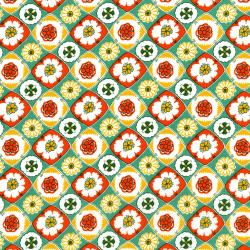 2967-002 Everything But The Kitchen Sink XII - Box Social - Carrot Cake Fabric