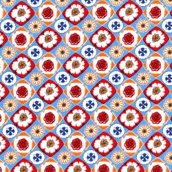 2967-003 Everything But The Kitchen Sink XII - Box Social - Cherry Pie Fabric