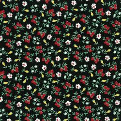 3304-001 Everything But The Kitchen Sink XIII - Barbara's Berries - Blackberry Fabric