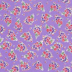 3305-001 Everything But The Kitchen Sink XIII - Bouquet Beauties - Lavender Fabric