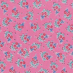 3305-002 Everything But The Kitchen Sink XIII - Bouquet Beauties - Bubblegum Fabric