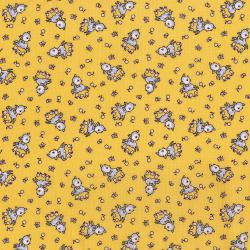 3307-002 Everything But The Kitchen Sink XIII - Frolicking Fawns - Butter Fabric