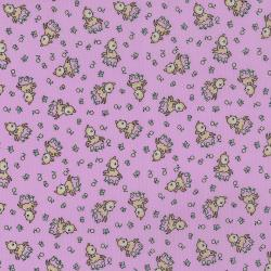 3307-003 Everything But The Kitchen Sink XIII - Frolicking Fawns - Lilac Fabric