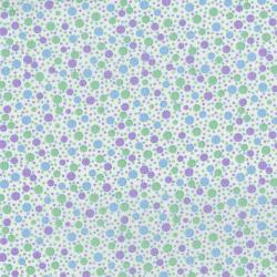 3310-003 Everything But The Kitchen Sink XIII - Circus Dots - Mint Julip Fabric