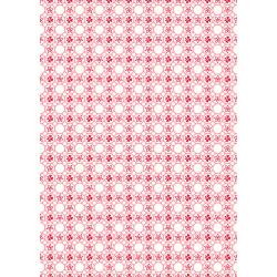 3599-001 Everything But The Kitchen Sink XIV - Dotty - Pastel Pink Fabric