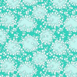 RJ2502-TE3 Everything But The Kitchen Sink XV - Elegant Vines - Teal Fabric