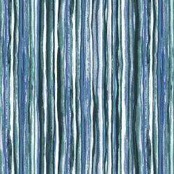 RJ1405-EM9 Fancy Stripes - Emerald Fabric