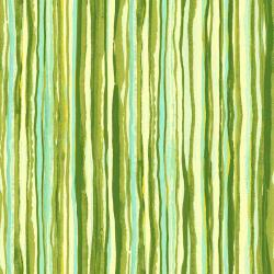 RJ1405-OL4 Fancy Stripes - Olive Fabric