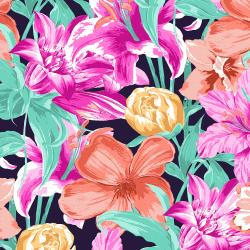 RJ3200-BP2 Full Bloom - Beauty Is Everywhere - Bright Pink Fabric