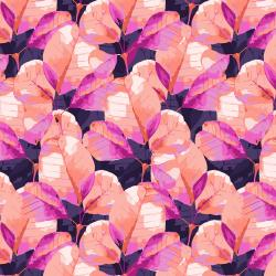 RJ3202-IT2 Full Bloom - Rustling Leaves - I Think in Pink Fabric