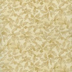 1560-001 Holiday Accents Classics - Holly Toile - Cream Fabric
