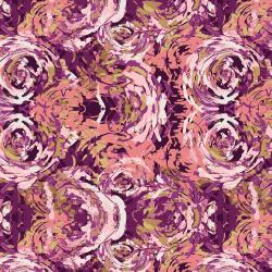 RJ3300-FR2 I Must Have Flowers - Daybreak - French Rose Fabric