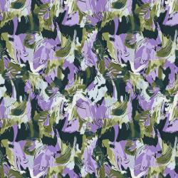RJ3302-DF3 I Must Have Flowers - What a Lovely Thing - Dark Forest Fabric