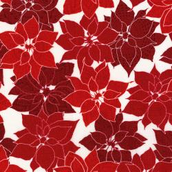 3491-002 Let It Sparkle - Christmas Crochet - Radiant Cherry Metallic Fabric