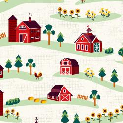RJ1900-ST1 Lil' Bit Country - Barnyard - Storybook Fabric