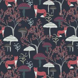 RJ3500-WN3 Magical Night - The Thicket - Winter Night Fabric