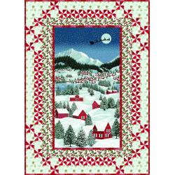 9653-434 Merry, Berry, & Bright - Night Before Christmas Quilt Kit