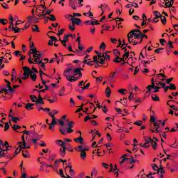 RJ1003-VI1B Nature Walk - Rose Vine - Vineyard Batik Fabric