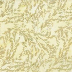 RJ1004-ST5B Nature Walk - Branches - Straw Batik Fabric