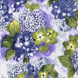 3514-002 Petal Park - Where Flowers Bloom - Hydrangea Fabric