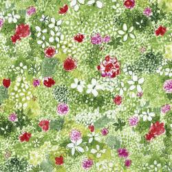 3516-001 Petal Park - Wild Meadow - Sweet Pea Fabric