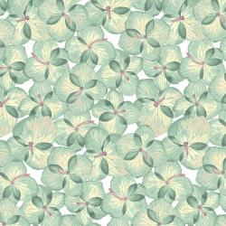 RJ2402-SF3 Pressed Floral - Petunia Paper - Spring Frost Fabric
