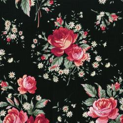3497-001 Rosette - Jardin - Midnight Rose Fabric