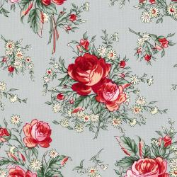 3497-002 Rosette - Jardin - Granite Fabric