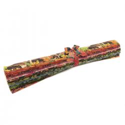 RJ700P-FQR Shades of Autumn Metallic Fat Quarter - Roll
