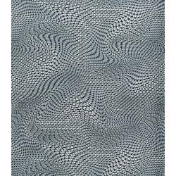 2958-002 Silver Circuits - Mesh - Grey Metallic Fabric