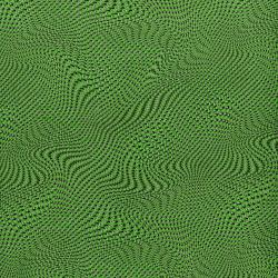 2958-004 Silver Circuits - Mesh - Green Metallic Fabric