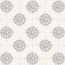 RJ2302-AR3 Smooth Seas - Compass - Arctic Fabric