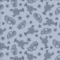 RJ2303-SW1 Smooth Seas - Crustacean - Swim Fabric