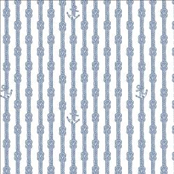 RJ2304-NA1 Smooth Seas - Anchor - Navy Fabric