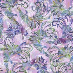 3610-002 Starlight & Splendor - Promenade - Amethyst Digiprint Fabric