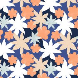 RJ3401-SU3 Wide Open Spaces - Wildflowers - Sea Urchin Fabric