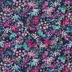 3094-001 Wildwood Way - Enchanted Meadow - Delphinium Digiprint Fabric