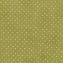 0016-002 Home Essentials - Dots - Green/Cream Fabric