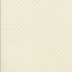 0016-036 Home Essentials - Dots - Cream/New Pink Fabric