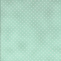 0016-037 Home Essentials - Dots - Dusty Blue/Cream Fabric