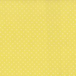 0016-049 Home Essentials - Dots - Yellow/Cream Fabric