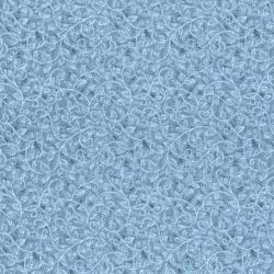 0045-009 Home Essentials - Vine - Blue Fabric