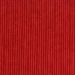 2739-002 Christmas Wishes - Candy Bag Stripe - Holiday Red Fabric
