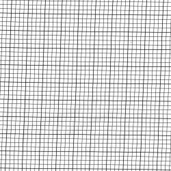 2872-001 Geekery - Graph Paper - Albus Fabric